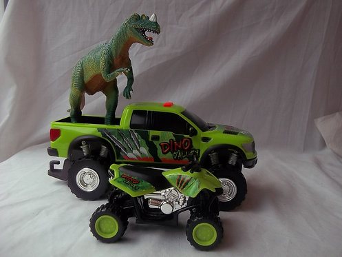 Dino Valley Dinosaur 3 Piece Toy Set With Sounds