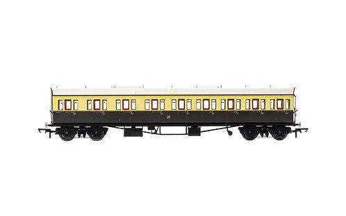 R4874A GWR Collett 57' Bow Ended E131 Nine Compartment Composite(L/H) 6626 Era 3