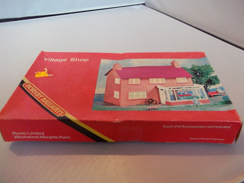"""R193 Hornby Railways """"Village Shop"""" Kit (Vintage 1970's New Un-Built)"""