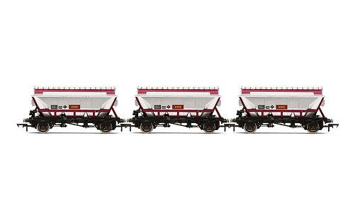 R60071 CDA Hopper Wagons Three Pack EWS - Era 9