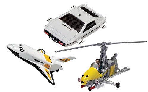 James Bond Collection (Space Shuttle, Little Nellie, Lotus Esprit)