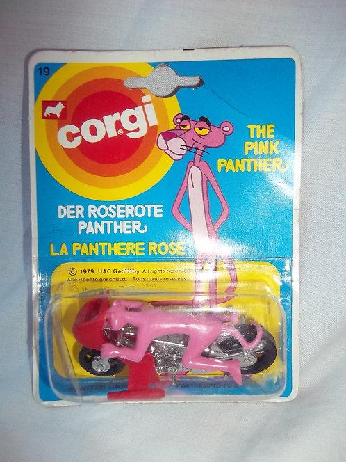 Corgi Pink Panther & Motorbike Brand New Vintage