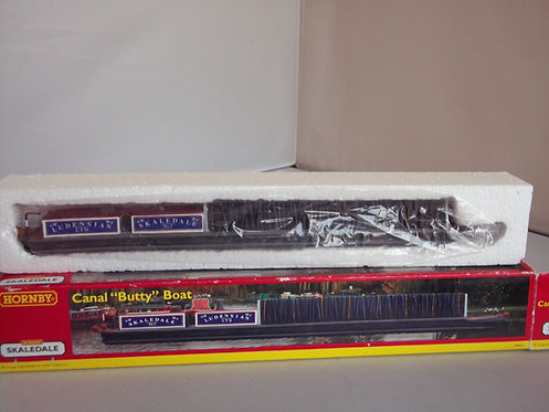 """Hornby Skaledale R8656 Canal """"Butty Boat O Gauge NEW"""