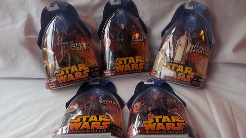 """Star Wars Figures Revenge Of The Sith 3.75"""" Scale"""