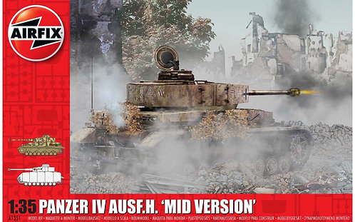 A1351 Panzer IV Ausf.H Mid Version 1:35 Scale
