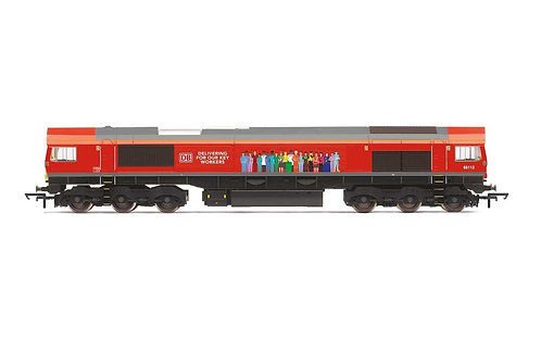 R30074 DB Class 66 Co-Co 66113 'Delivering For Our Key Workers' - Era 11