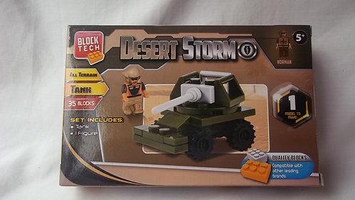 Block Tech Desert Storm 35 Lego Type Blocks 5+