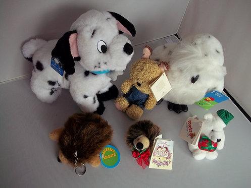 NWT JOB LOT Branded Soft Plush Cuddly Animal & Bird Toys