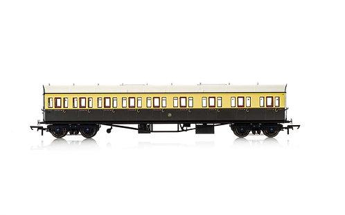 R4875A GWR Collett 57'Bow Ended E131 Nine Compartment Composite(R/H) 6627-Era 3