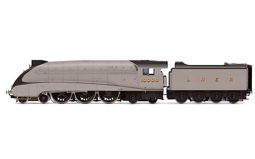 R3978 LNER Class W1'Hush Hush'Streamlined 4-6-4 10000 - Era 3