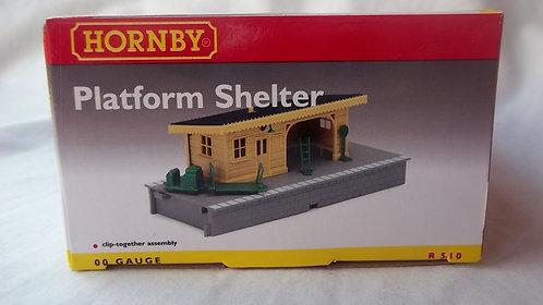 Hornby R510 Model Platform Shelter OO Gauge/1:76