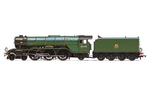 R3991 BR A3 Class 4-6-2 60103 Flying Scotsman diecast footplate/flickering Fire