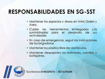 SGSST - responsabilidades 2 - CONTINUOUS