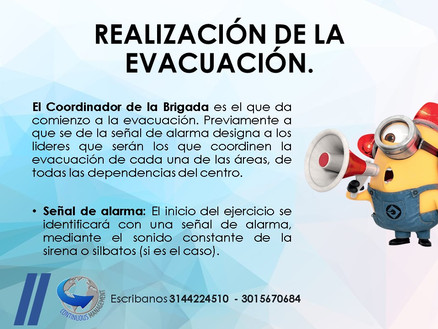 SGSST - evacuacion - CONTINUOUS MANAGEME
