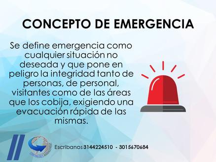SGSST - emergencia - CONTINUOUS MANAGEME