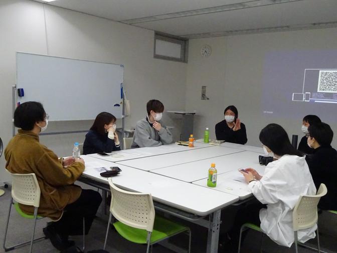 3/7 制作コース「卒業制作展にむけて」作品アドバイス 5 今村育子さん、高橋喜代史さん