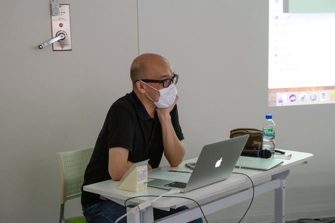 8/22 制作「映像論」(講師|伊藤隆介さん)