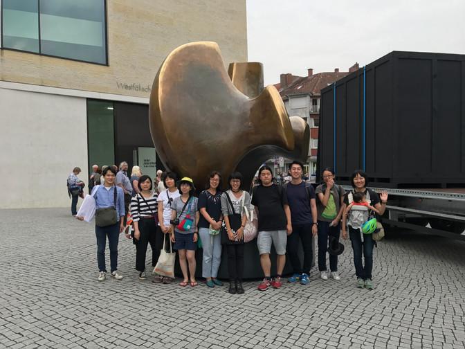 ドイツへ芸術祭視察旅行にいってきました。(ミュンスター編)