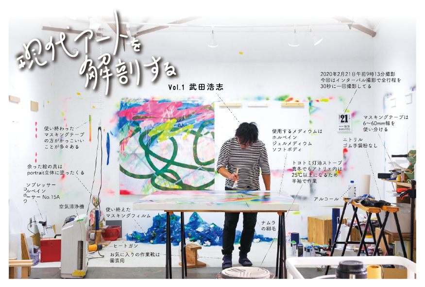 「現代アートを解剖する Vol.1 武田浩志」