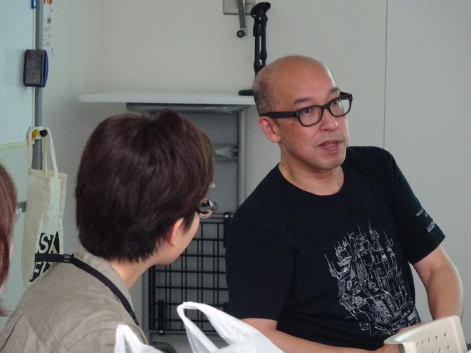 8/31 制作コース「60秒の映像を作る」-課題の講評- 伊藤隆介さん
