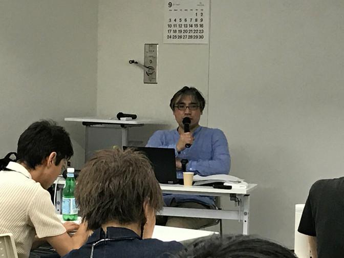 9/9 合同講義、 9/10 制作コース「リレーショナルな形式ー関係性の美学」