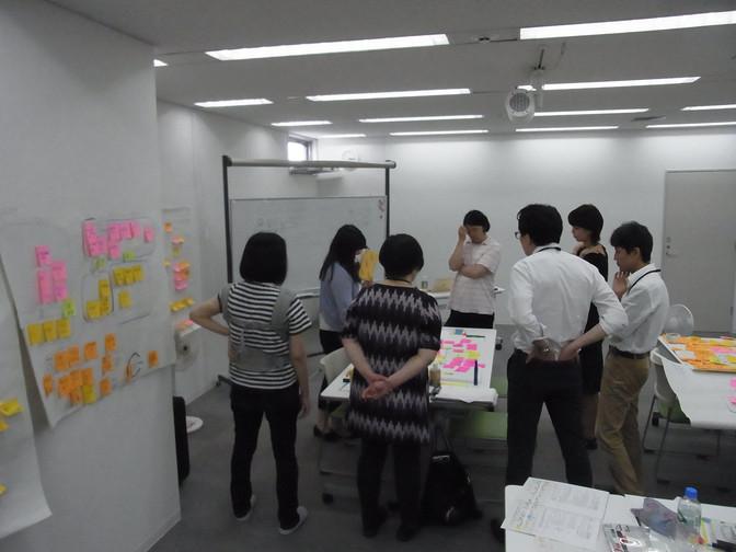 6/24 企画コース「企画発表、チームづくり」グループディスカッション