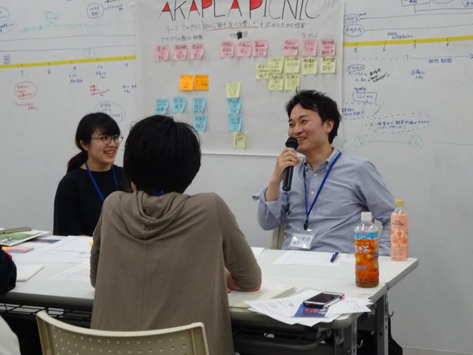9/7 企画コース「企画の内容を考える」グループワーク④ 酒井秀治さん