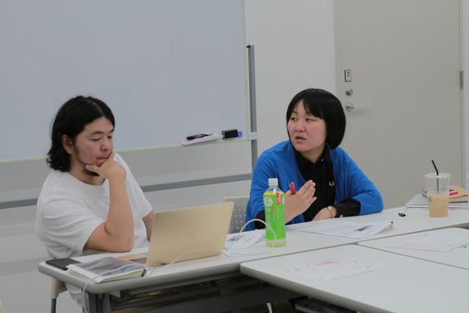 10/6 制作コース「作品を考える」(高橋喜代史・今村育子さん)
