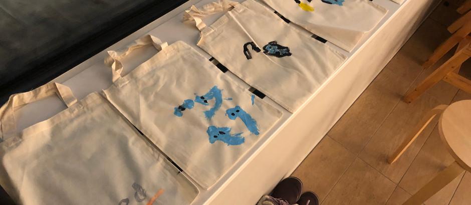 1月27日「ことバッグ制作2」