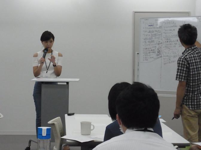 8/26 企画コース「ブレスト、企画発表、講評」