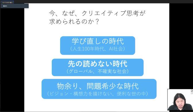 シンクスクール2020 開講!!(6/6合同オリエンテーション)