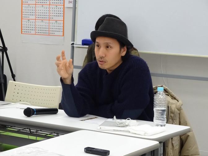 12/7 制作コース「天才ハイスクール!!!」卯城竜太さん(Chim↑Pom)