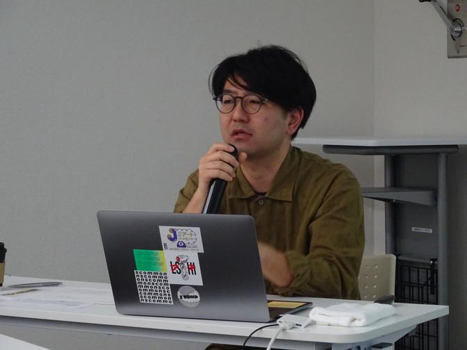 11/9 合同講座「社会・政治に対する意識と芸術の形式はどのようにして一致するのか」田中功起さん