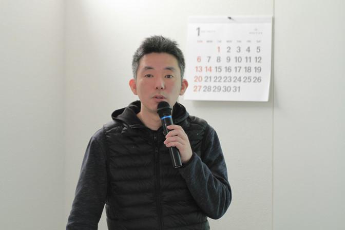 1/19 「企画をカタチにする」(漆崇博さん)