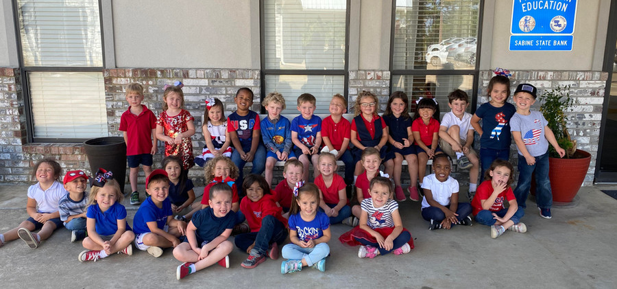 K4 on Red, White and Blue day
