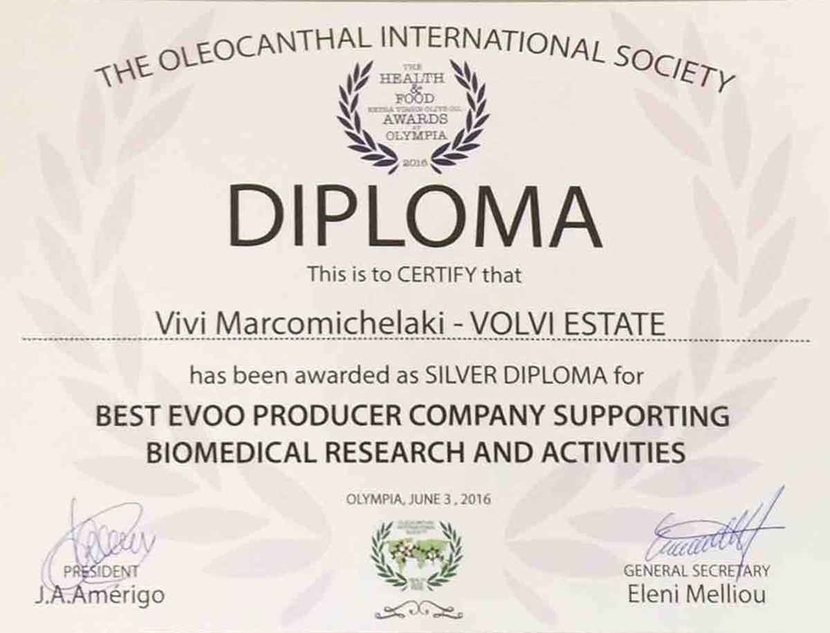 Silver Diploma 2016