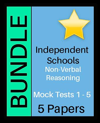 Independent Schools - Non-Verbal Reasoning Bundle