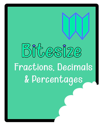 Bitesize - Fractions, Decimals & Percentages Paper3