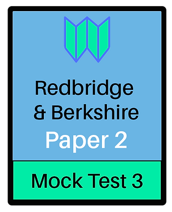 Redbridge & Berkshire Paper 2 -Mock 3