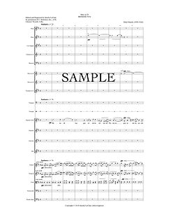 SmythMass in D Benedictus - p 1 FULL SCO