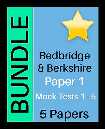 Redbridge & Berkshire Paper 1 - 5 Paper Bundle
