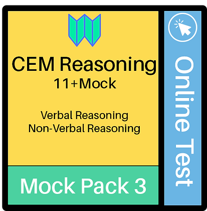 CEM Reasoning Online Assessment 3