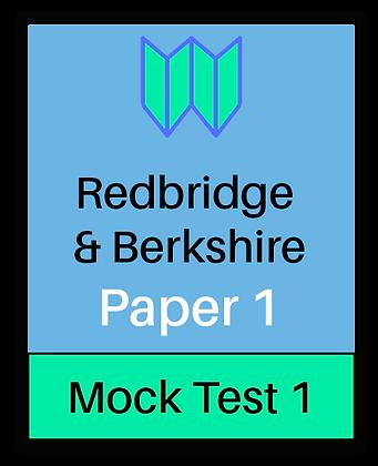 Redbridge & Berkshire Paper 1 - Mock 1