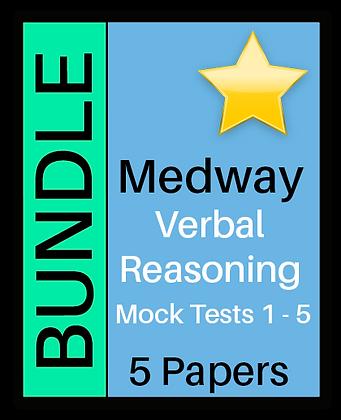 Medway Test - Verbal Reasoning 5 Paper Bundle