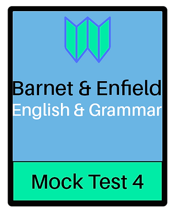 Barnet & Enfield: English & Grammar Pack 4