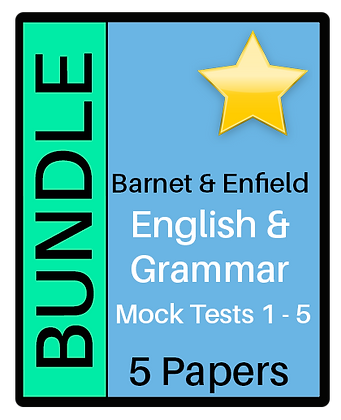 Barnet & Enfield: English & Grammar- 5 Pack Bundle