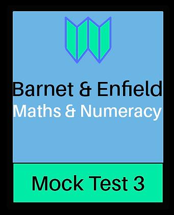 Barnet & Enfield: Maths &  Numeracy Mock 3