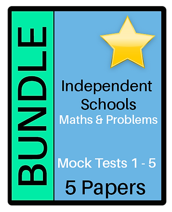 Independent Schools - Maths and Problem Solving - Bundle
