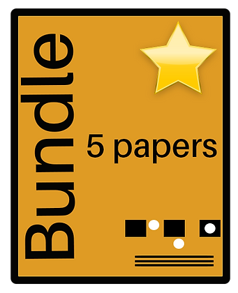 Non-Verbal Reasoning - 5 Paper Bundle