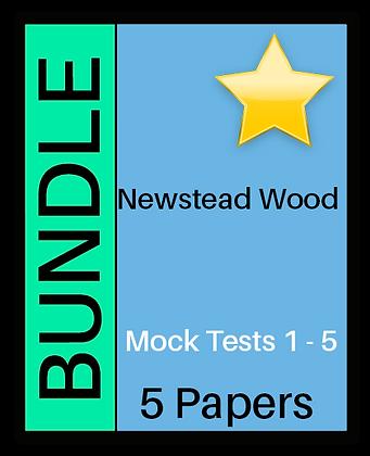 Newstead Wood Entrance Mock 5 Paper Bundle